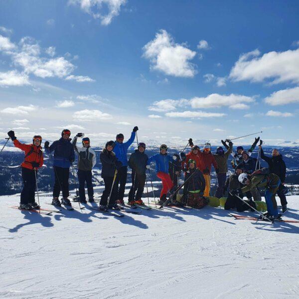 Åre på skidor