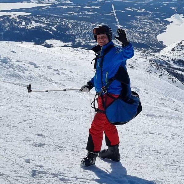 Martin paraglide